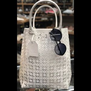 Tory Burch jelly tote